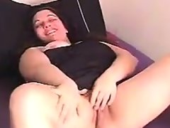 Fingering a thick and hairy pussy pov