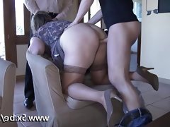 French mature julia gangbanged in..