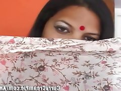 Bbw indian housewife rides cock pov..