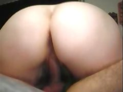 Bbw mature with a man on a sofa