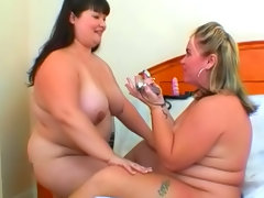 Two sexy fat babes such as kelly..