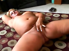 Fat cock sucker is fingering her fresh..