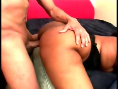 Bbw ebony babe gets pounded